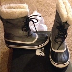 women new tags sorel boots 7 new snow winter 6.5